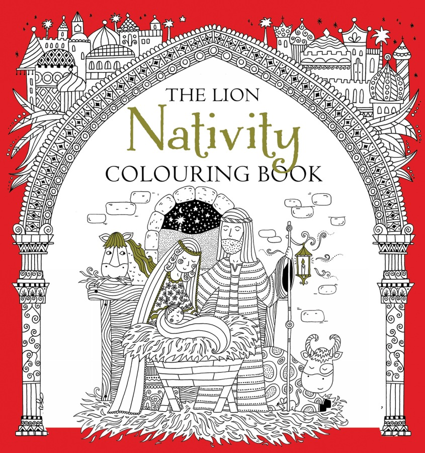 The Lion Nativity Colouring Book by Antonia Jackson and Felicity French