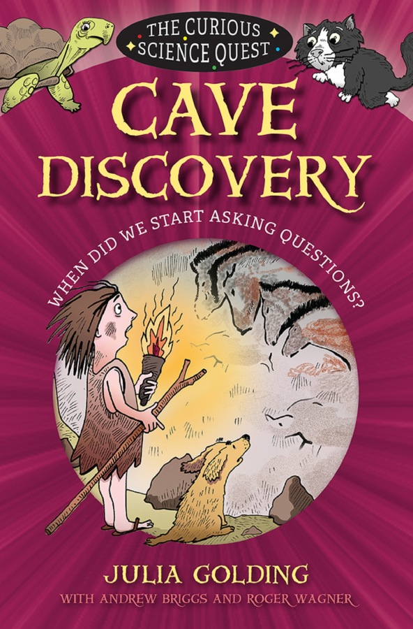 Cave Discovery by Julia Golding