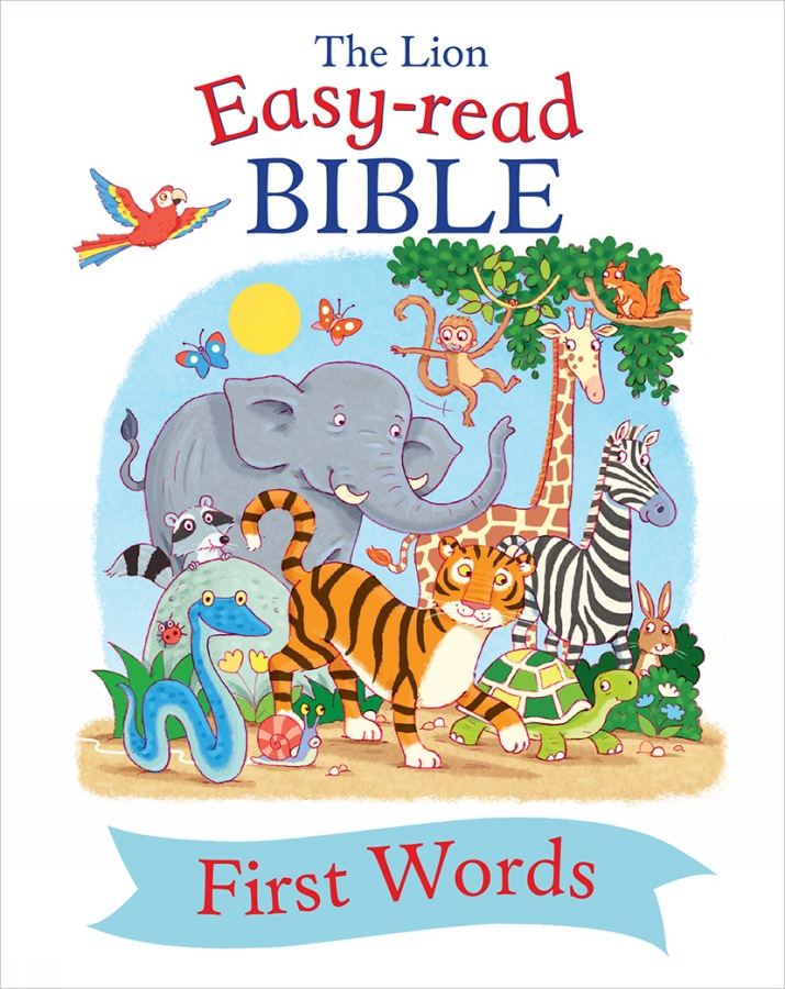 The Lion Easy-read Bible First Words
