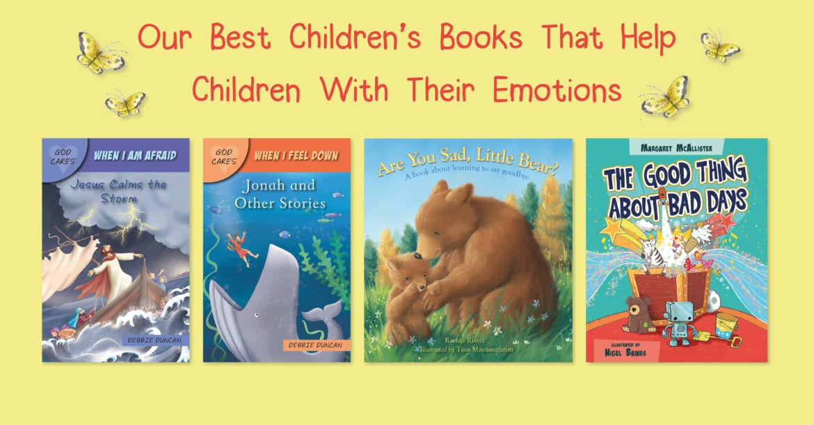 Lion Hudson Best Children's Books about Mental Health that Help Children with their emotions