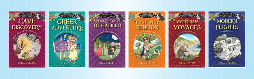 The Curious Science Quest by Julia Golding